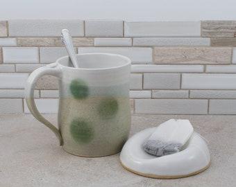 Mug and Tea Bag Holder Set