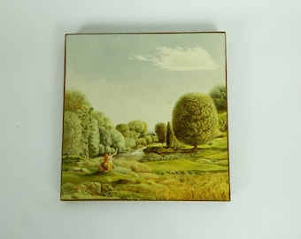 Small laminated - VINTAGE - Adam and Eve