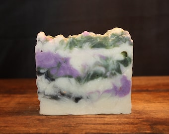 Patchouli Ginger .. Luxurious Lather Handmade Cold Process Soap
