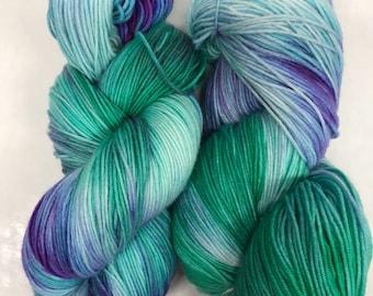 Hand dyed yarn/mermaid kisses