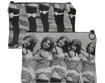Carry All Pouch Vintage Pin Up Photo