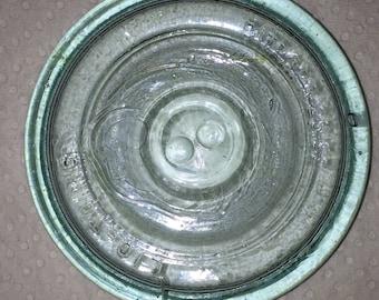 Putnam Lightning Glass Canning Jar Lid
