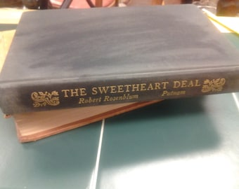 On Sale The Sweetheart Deal Fiction Book Published in 1973 by Robert Rosenblum