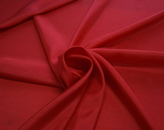 402101-taffeta natural silk 100%, wide 110 cm, made in India, dry cleaning, weight 58 gr, price 1 meter: 26.50 Euros