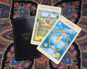 Tarot 3-card energy capture