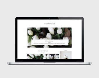 WUNDERKIND - Responsive Blogger Theme - Popular Posts Slider, Simple, Chic, Minimal, Sleek