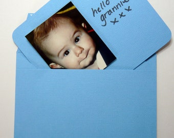 Notecards with matching envelopes - blue/green range
