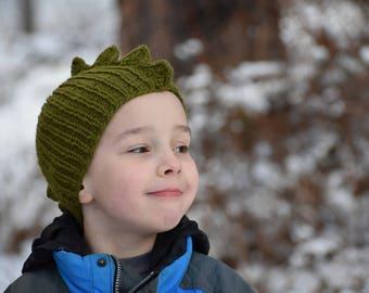 Green Dino/Dragon Hat