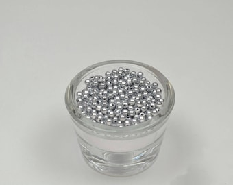 200 Pearls gray 4 mm