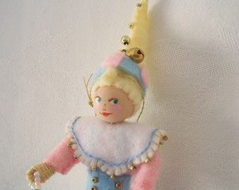 Billy for The Spring Collection Hanging Ornament,  Art Doll Easter decorations