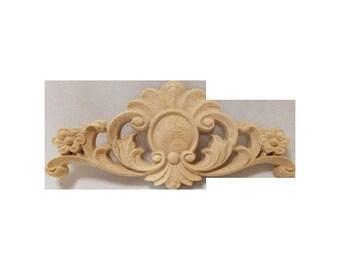 Wood Carving Decorative Onlay