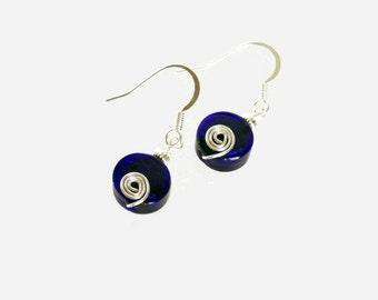 The Blues Earrings