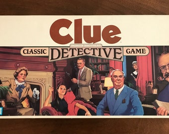 Clue // Parker Brothers 1986 // Complete!