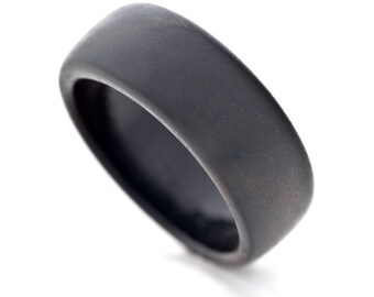 Black Ivory Wooden Ring