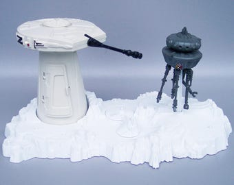 Vintage Star Wars Hoth Probe Droid Playset C85 100% Complete