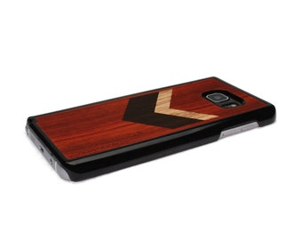 For Samsung Galaxy Note 5 Case Wood Chevron Geometric Red, Note 5 Case Wood  Note 5 Case Wood Galaxy Note 5 Case Note 5 Wood