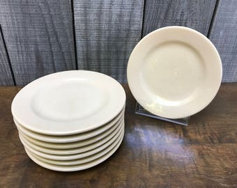 Set of 8 Tepco China bread and butter plates