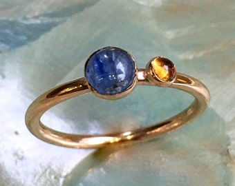 Mothers ring, Gold ring, Gold Filled ring, birthstones ring, family ring, custom ring, family ring, multi stone - So happy together R2452-1