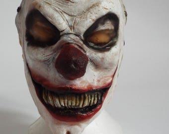 Evil Clown Elastic Strap Mask
