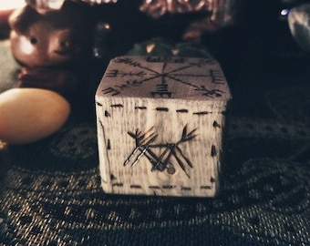Wooden Incense Holder, customizable