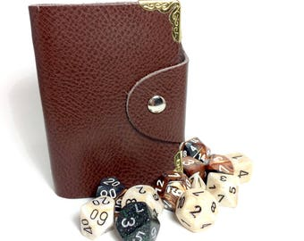 Genuine Leather Spell Book- Dungeons and Dragons