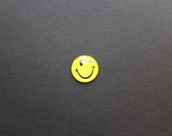 Cabochon 25mm glass Smiley Emoji Emoticon original