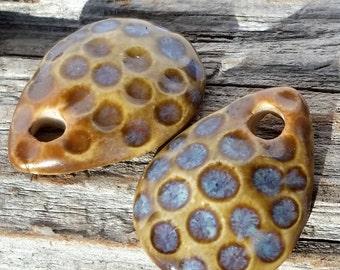 Ceramic Charms / Ceramic Dangles / Earring Charms / Earring Dangles / Earring pendants