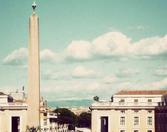St. Peter's Square - Vatican City, Italy photography, Rome photograph, Catholic, Italian decor