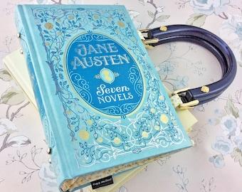 "Jane Austen Handbag, Pride and Prejudice purse, Bridesmaid gift, Gift for English teacher, ""I have not the pleasure of understanding you."""