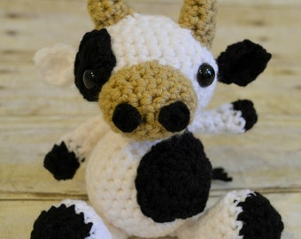 Little Cow Stuffed Toy or Photo Prop