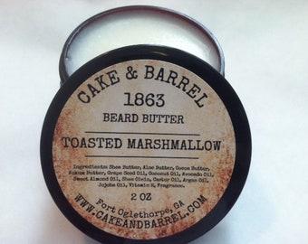 1863 Toasted Marshmallow Beard Butter 2oz