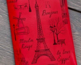 Monogram Passport Cover Passport Holder Personalized Passport Wallet Passport Holder Women Men Gift for Traveler Stocking Stuffer