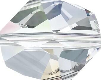 Swarovski Crystal Cosmic Beads 5523- 12mm 16mm - Clear Crystal AB