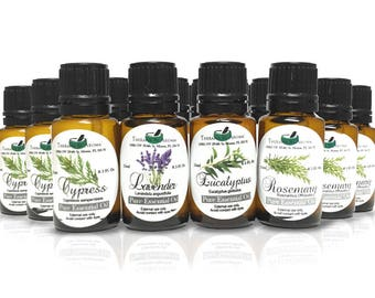100% Pure Essential Oils of your choice. Lavender, Patchouli Vetiver, Rosemary, Rose... and many more!