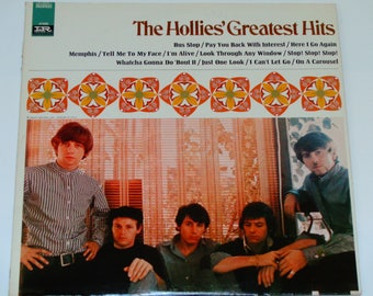 """The Hollies Greatest Hits - """"Bus Stop"""" - """"On a Carousel"""" - Graham Nash - Original Imperial Records 1967 - Vintage Vinyl LP Record Album"""