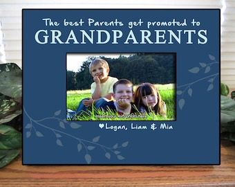 Grandparents Frame, Personalized Grandparents Frame, Personalized Photo Frame, Grandparents Gift, Personalized Picture Frame, Papa