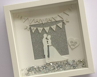 Wedding Frame - A beautiful gift for the new Mr and Mrs, Mr and Mr or Mrs and Mrs