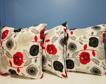 3 Decorative Pillow Covers
