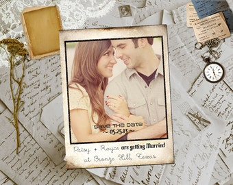 """Wedding Save The Date Magnets - BronzeHill  Photo Personalized 4.25""""x5.5"""""""