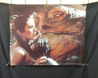 Star Wars Princess Leia &Jabba The Hut 1983 Procter / Gamble