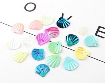 60pcs Tiny Shell Charm  Seashell Charm Sea Charm Ocean Charm Conch Charm  Beach Charm DIY Jewelry Accessories Supplies