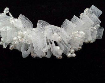 Fascinator, Bridal Hair Accessories, Back-piece / Wreath / Tiara