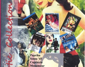 Tinto Brass. Erotic Collection 1. Italian. English Subtitles. 2 DVD set. 6 Movies