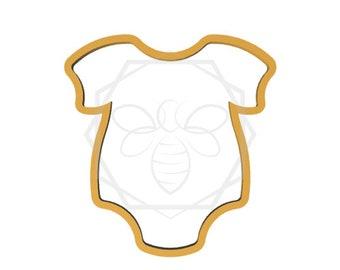 Jillbeesz Chubby Baby Romper Cookie Cutter