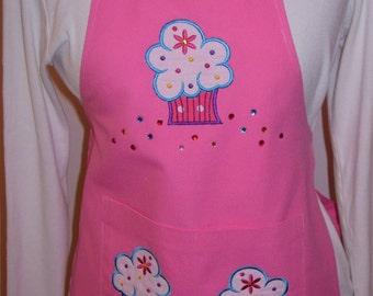 Girls Cupcake Apron