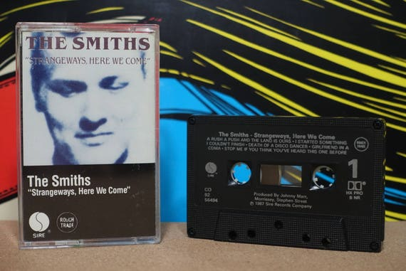Strangeways, Here We Come (Rare Canadian Pressing) by The Smiths Vintage Cassette Tape