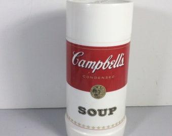 Thermos Aladdin soupe Campbells jamais utilisé des années 1970 vintage