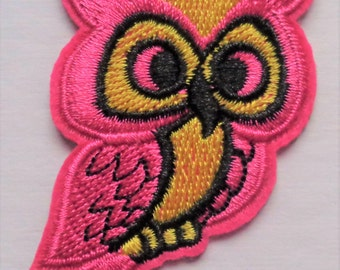 Owl Applique Iron-on Patch