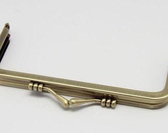 1 PC Lovely Antique Bronze Metal Purse Frame /Handle Purse Frame 12.5*5.5cm (4.9*2.2 inch) E137