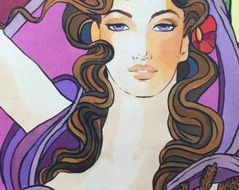 AUTUMN art print (The Seasons series)